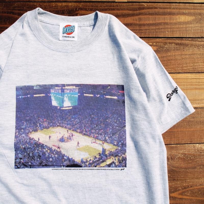 """【DARGO】""""Golden State Warriors"""" T-shirt (ASH GRAY)"""