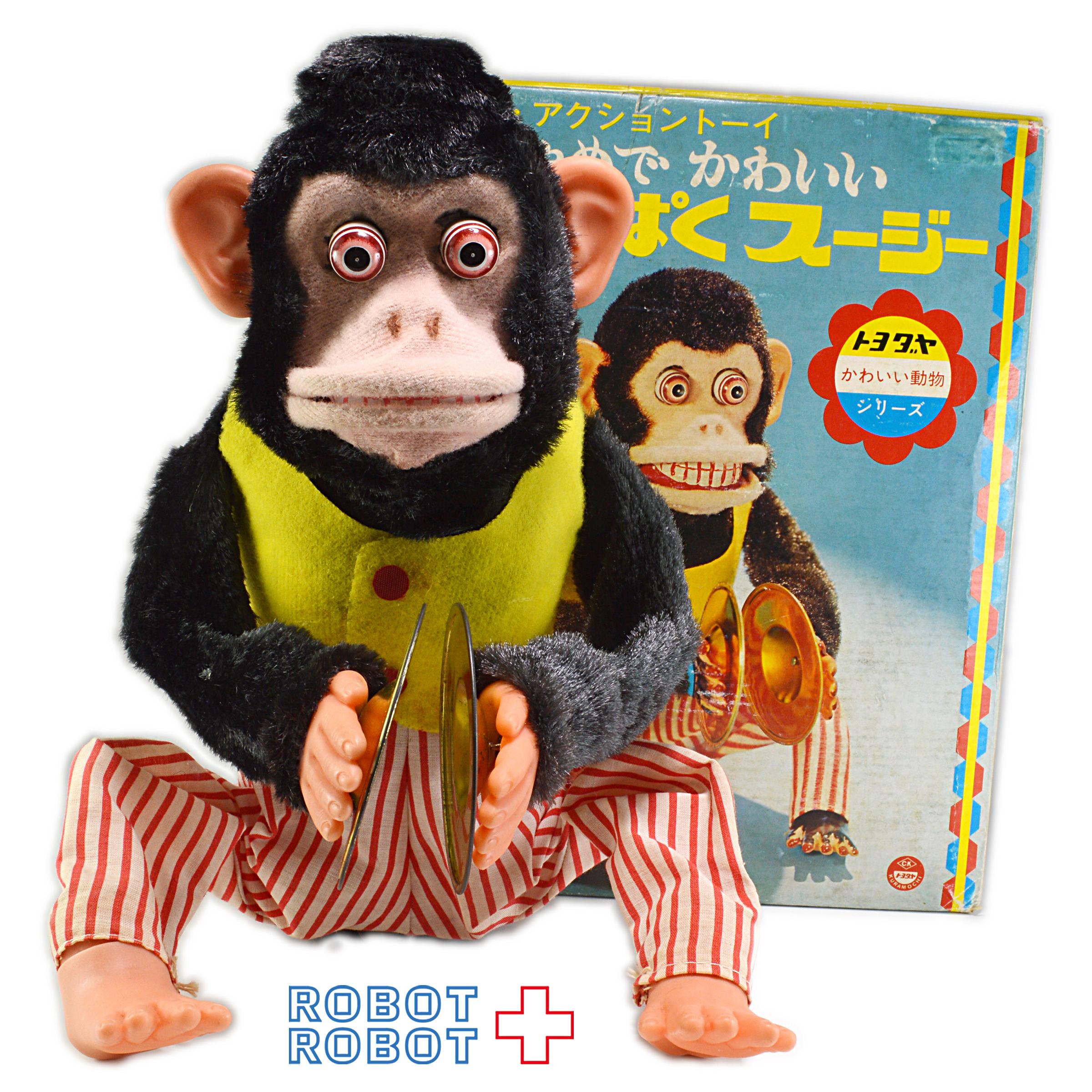 トヨダヤ わんぱくスージー 箱付 不可動トイストーリー3 シンバルモンキー 見張り猿 チンパンジー