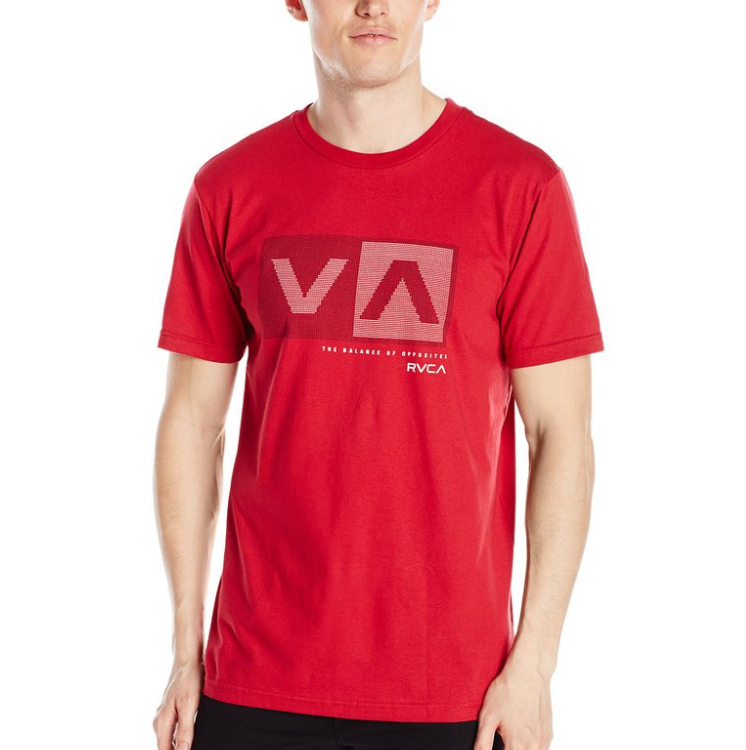 RVCA Men's Plus Minus Standard Tシャツ