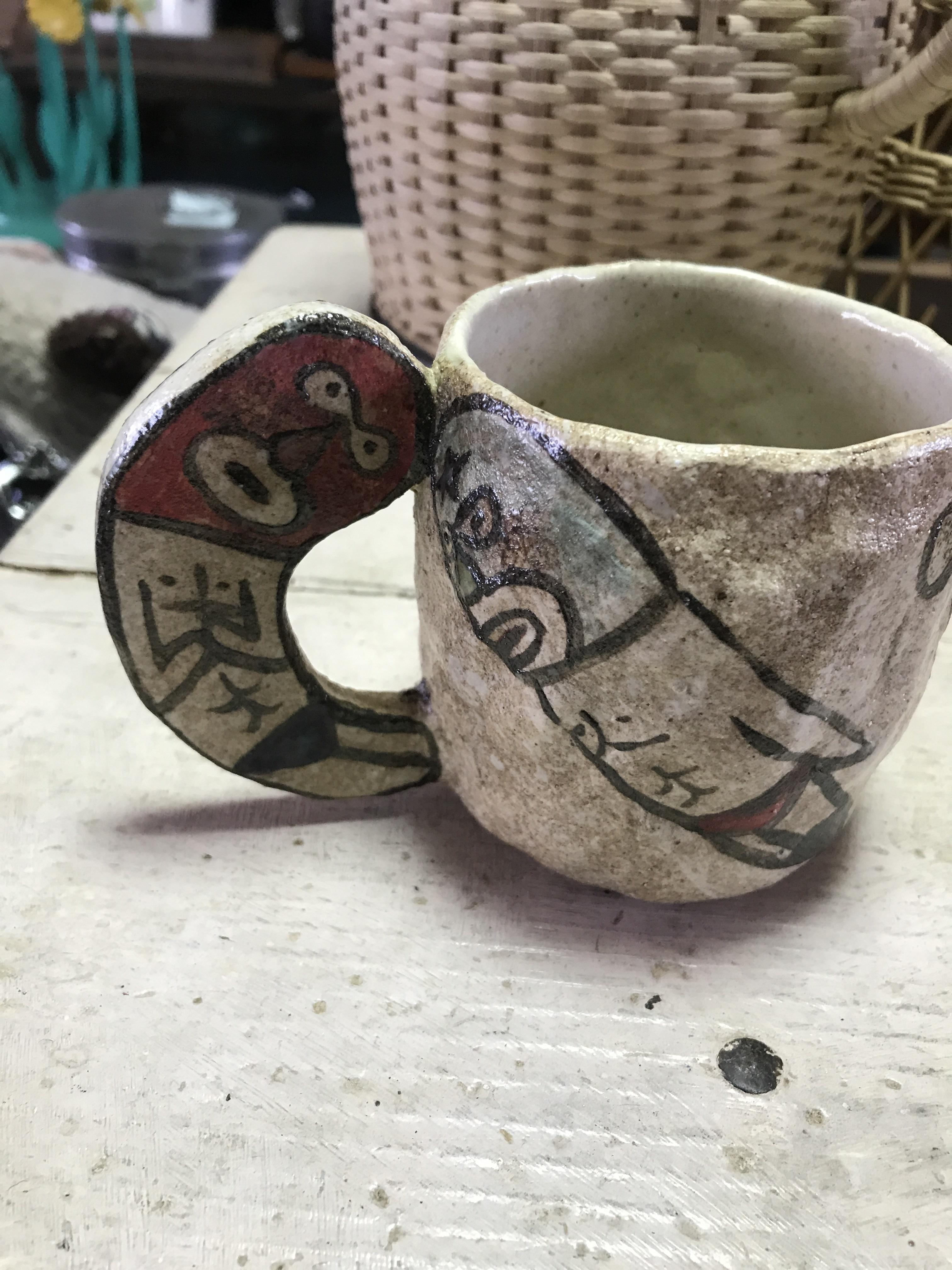 タナベヨシミレスラーマグカップ ②