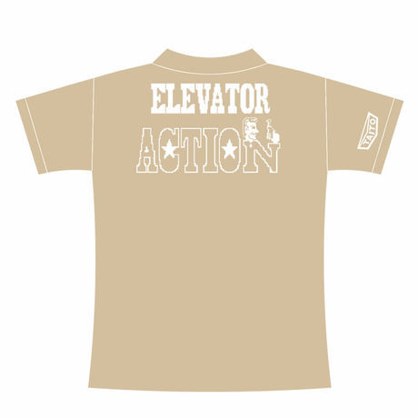 エレベーターアクション ワーキングシャツ (カーキ) / GAMES GLORIOUS