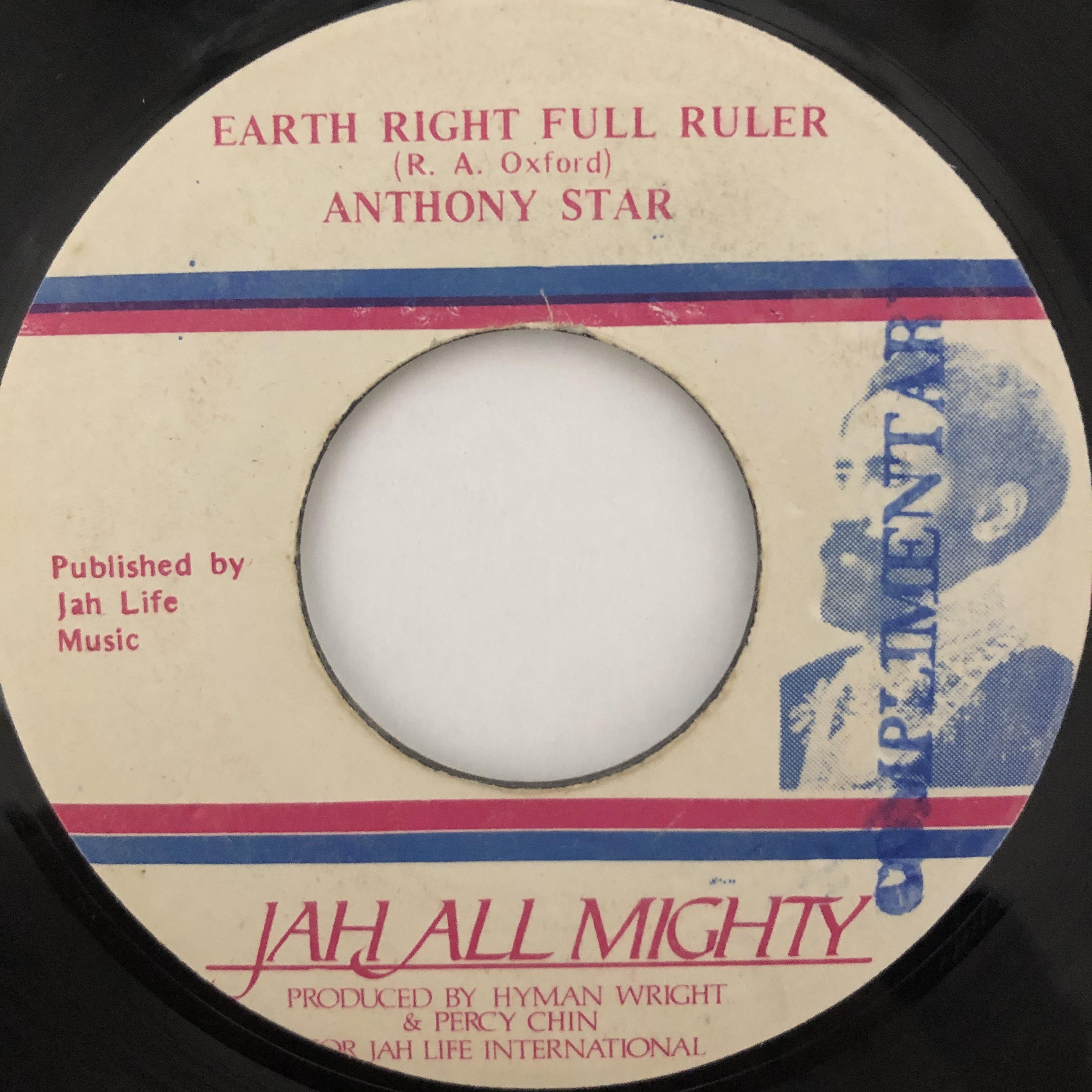 Anthony Star – Earth Right Full Ruler【7-20510】