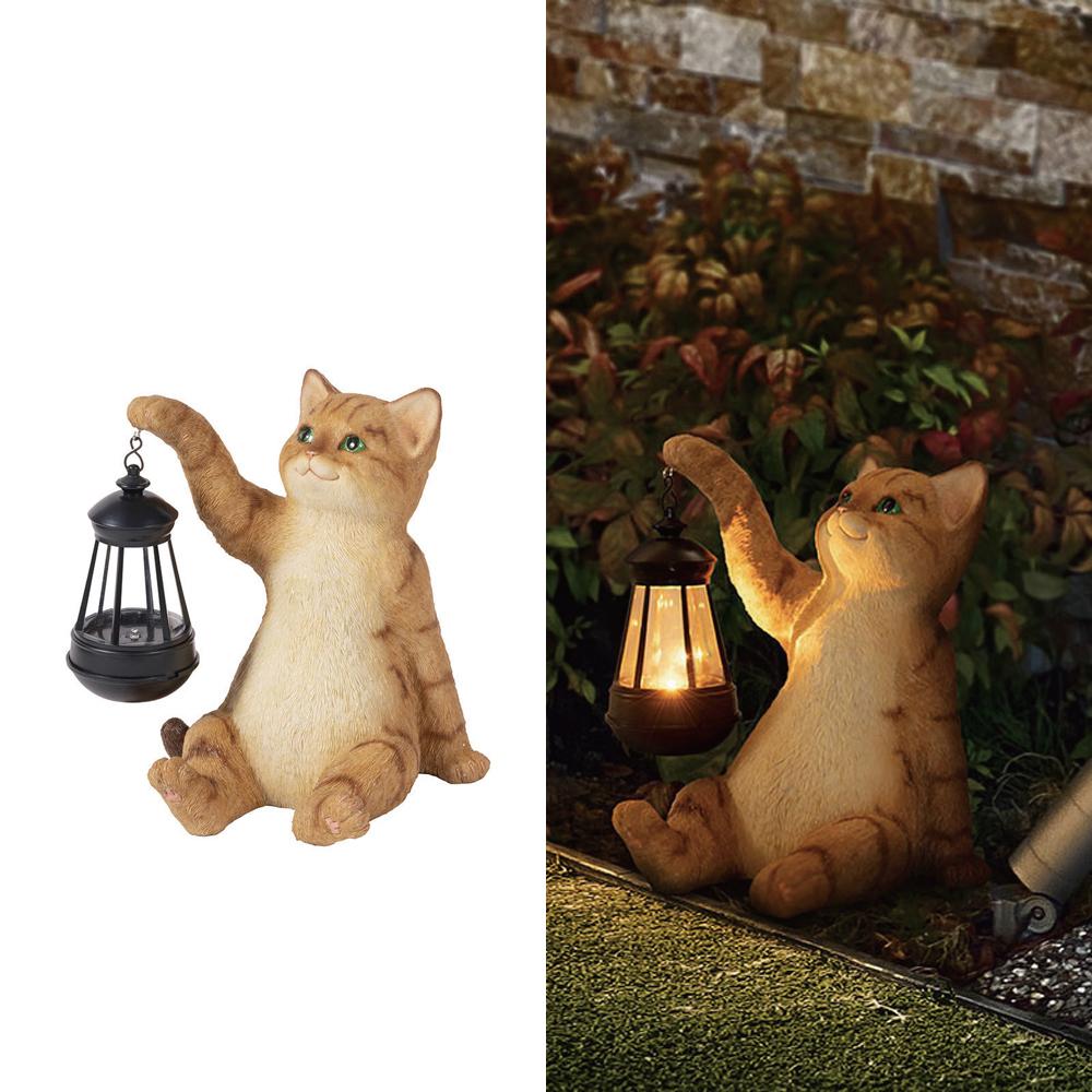 猫ソーラーオーナメント(CAT)トラ