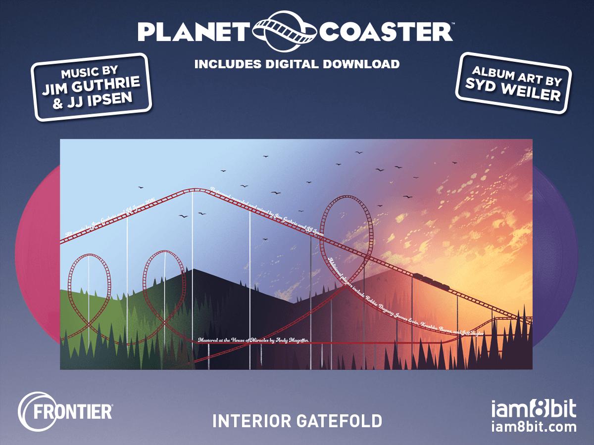 【プラネットコースター】Planet Coaster Soundtrack 2LP - 画像4