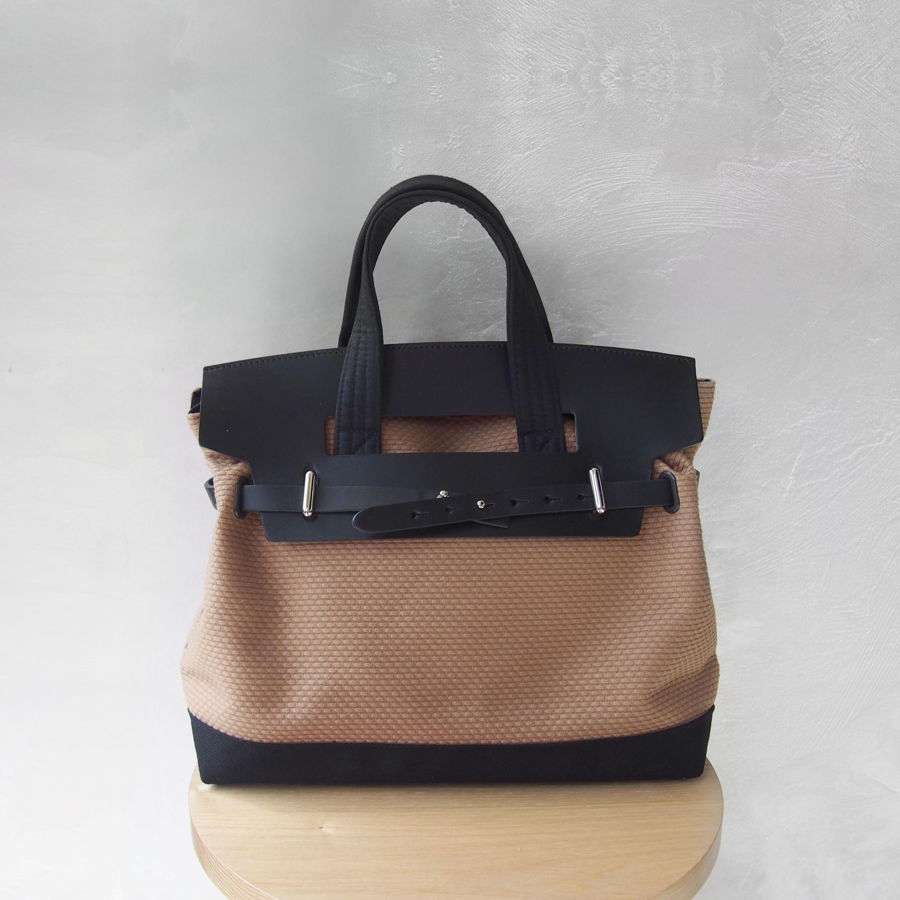 CaBas N°55 1Day tripper mini +shoulder strap Brown/Black