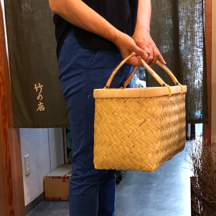 いつも一緒に竹籠BAG
