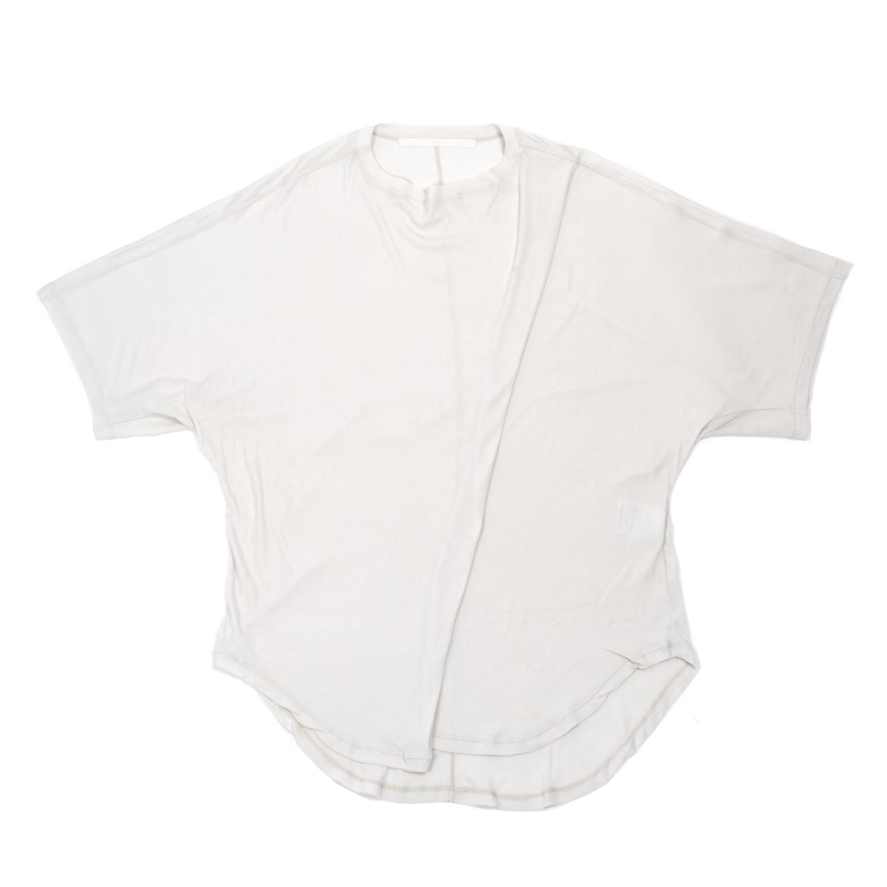 707CUM6-PLASTER / ドロップカラー オーバーサイズ Tシャツ