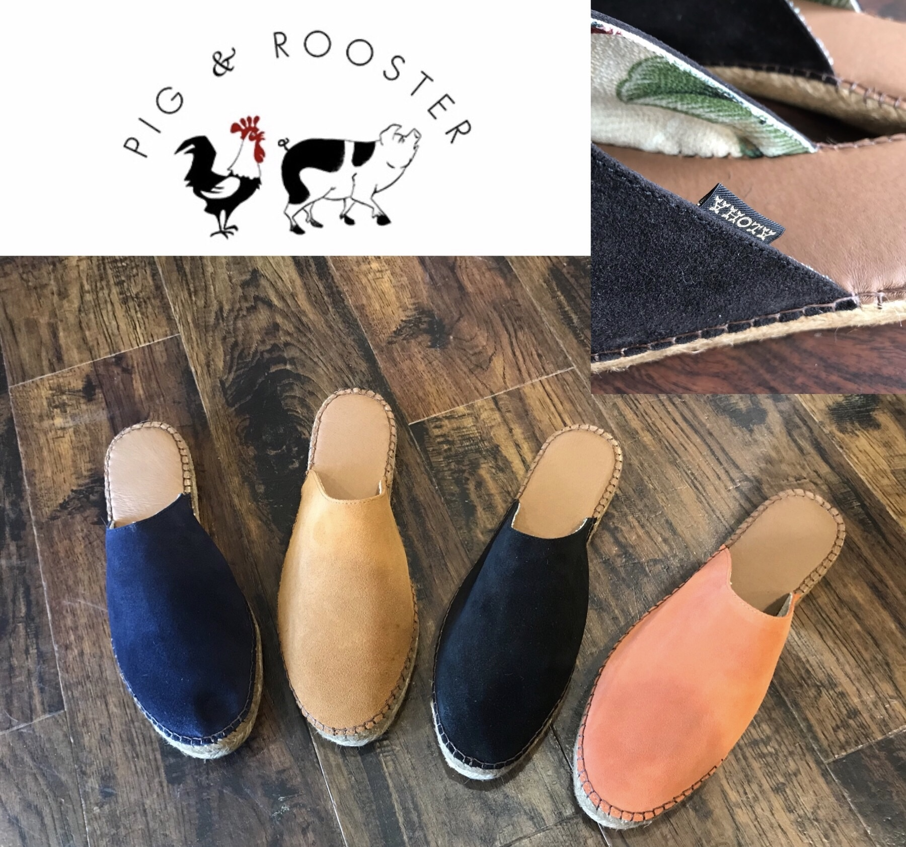 PIG&ROOSTER HOLOHOLO ESPADRILLE