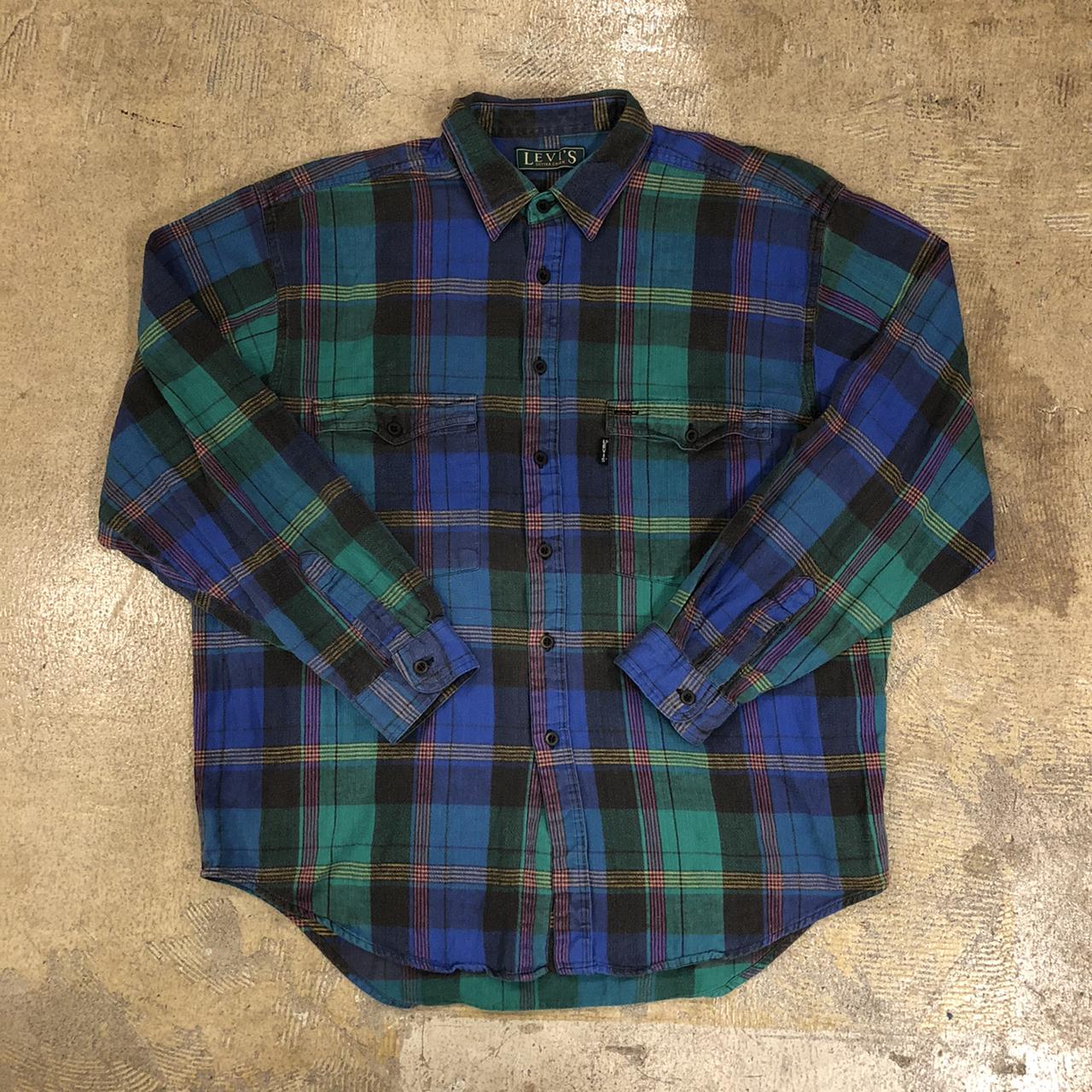 Levi's Flannel Shirts ¥5,800+tax