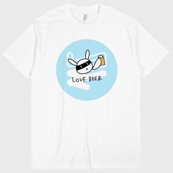 WALL-Tシャツ FALL(ブルー)
