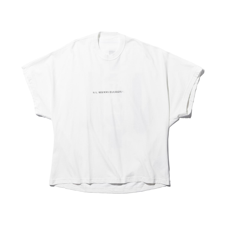740CPM2-WHITE / NILøS プリント Tシャツ ver.2