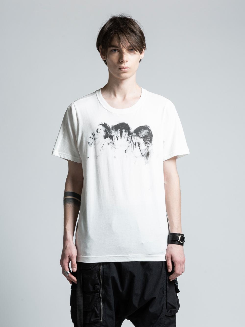 VI-PM-001-01 / PATRICIA MARCH コラボレーションフロントプリントTシャツ