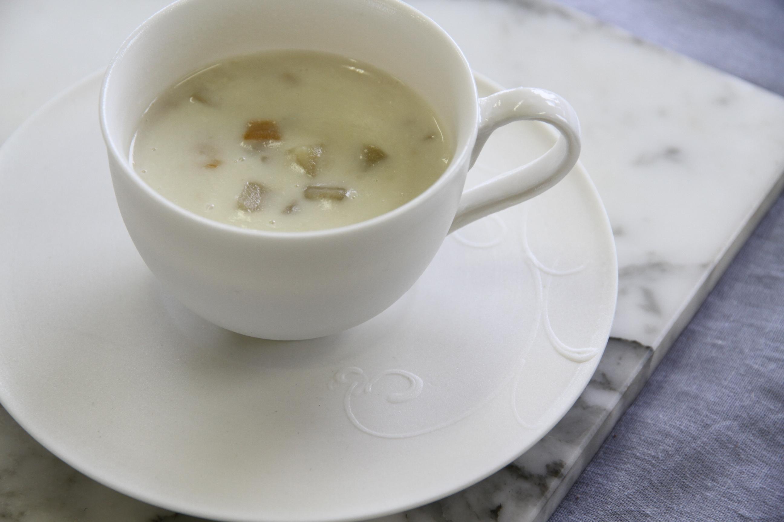 白のカップ&ソーサー