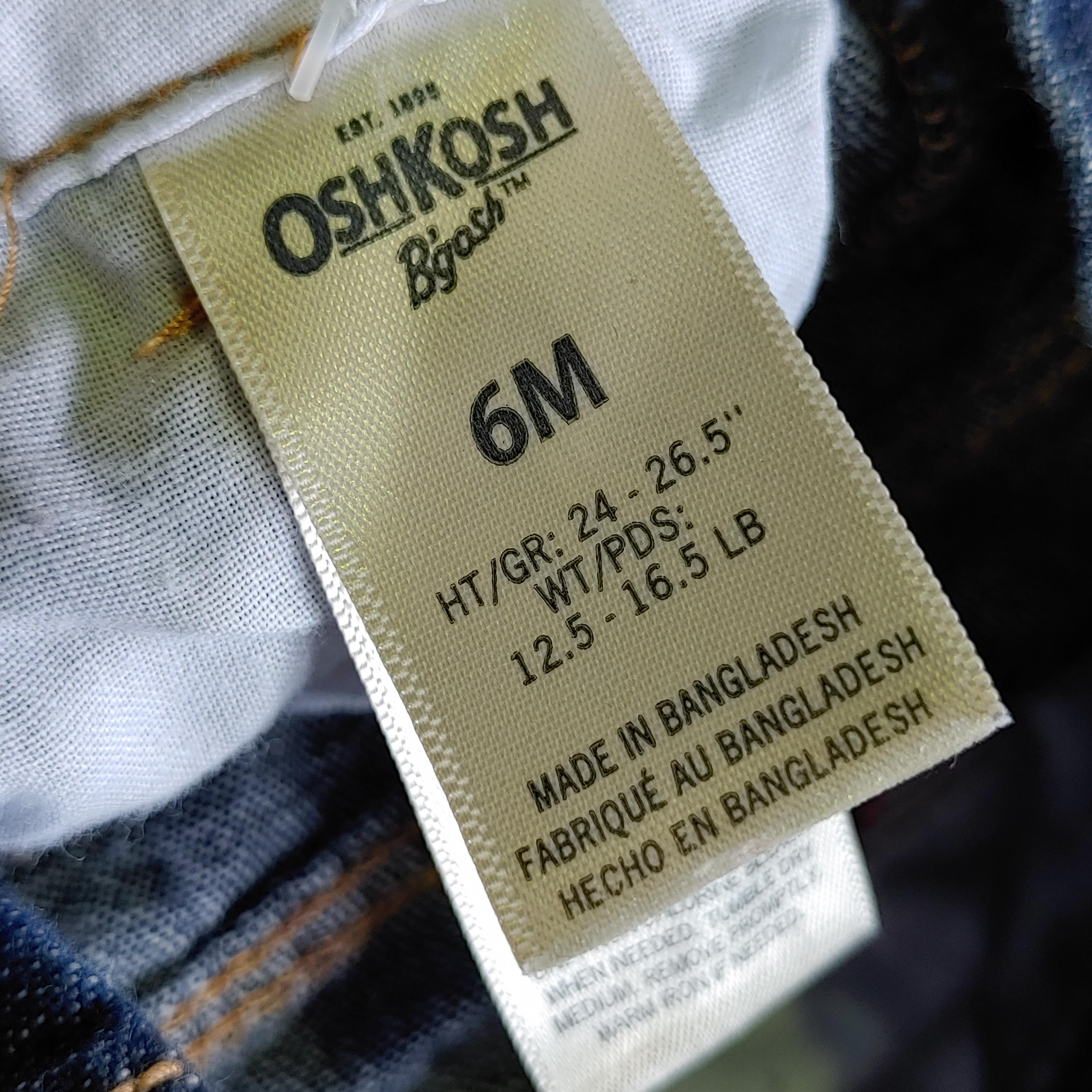 【BABY USED】Oshkosh Overall*6M