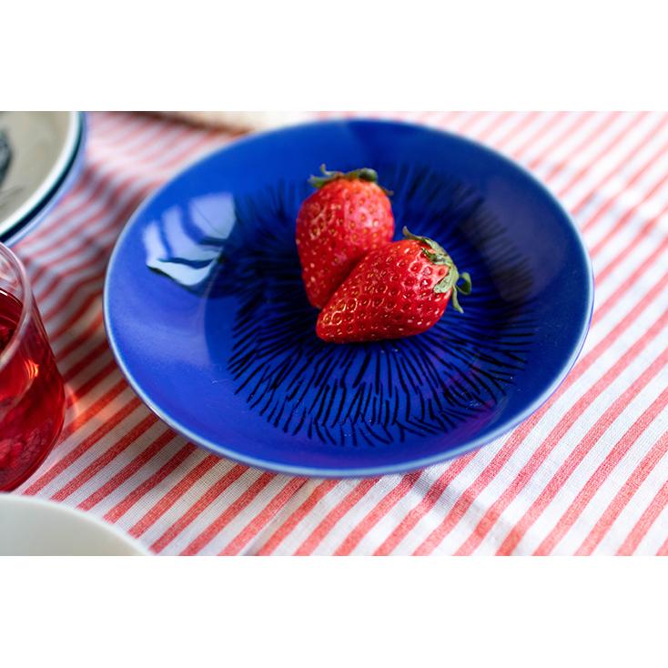 ハリネズミの食器17cmプレート/松尾ミユキさんイラスト