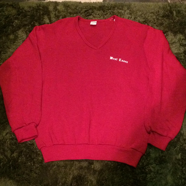 70's vintage champion Vネックセーター