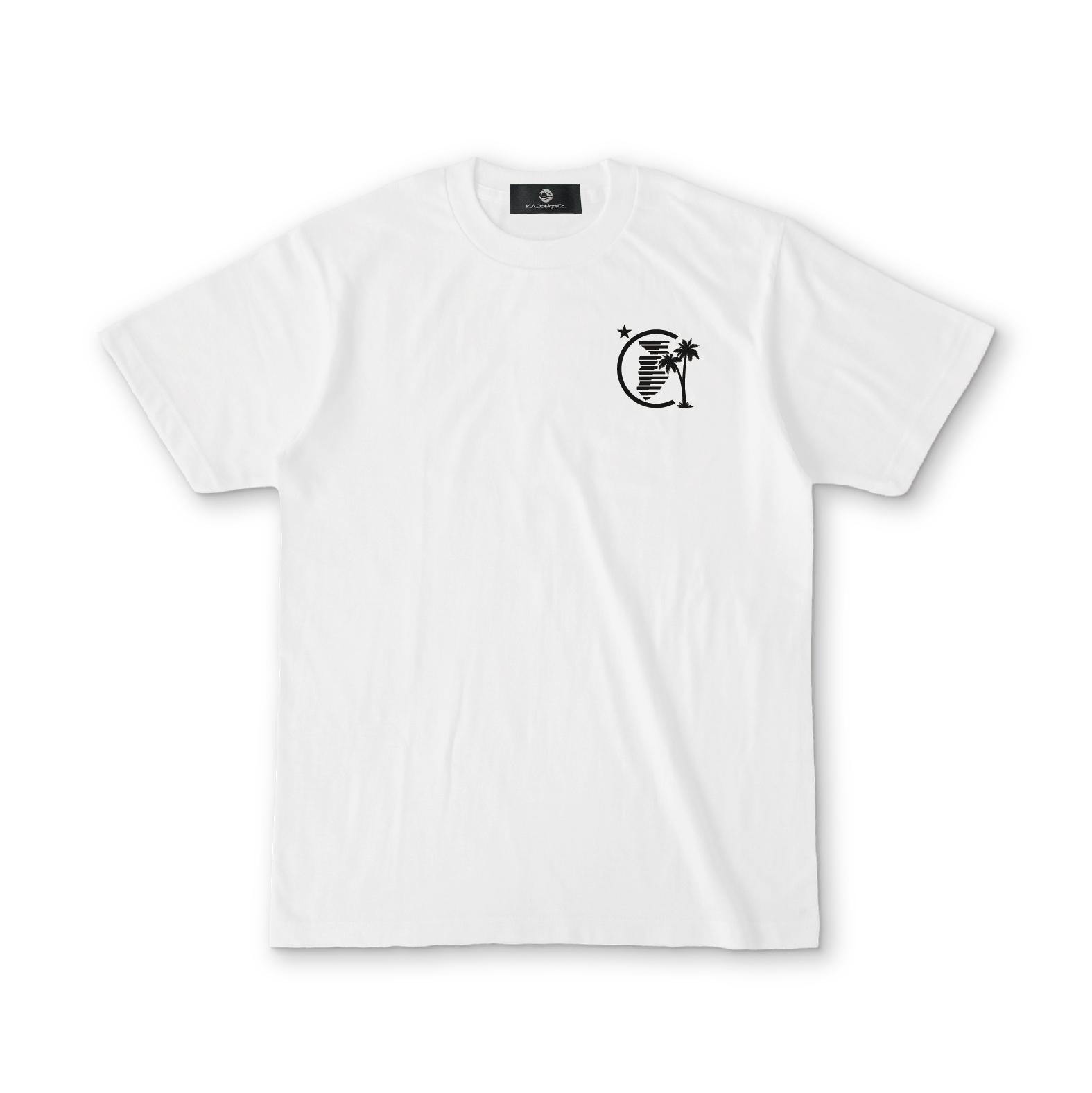 【即日発送】Izu GEO Typography Tee(Black)