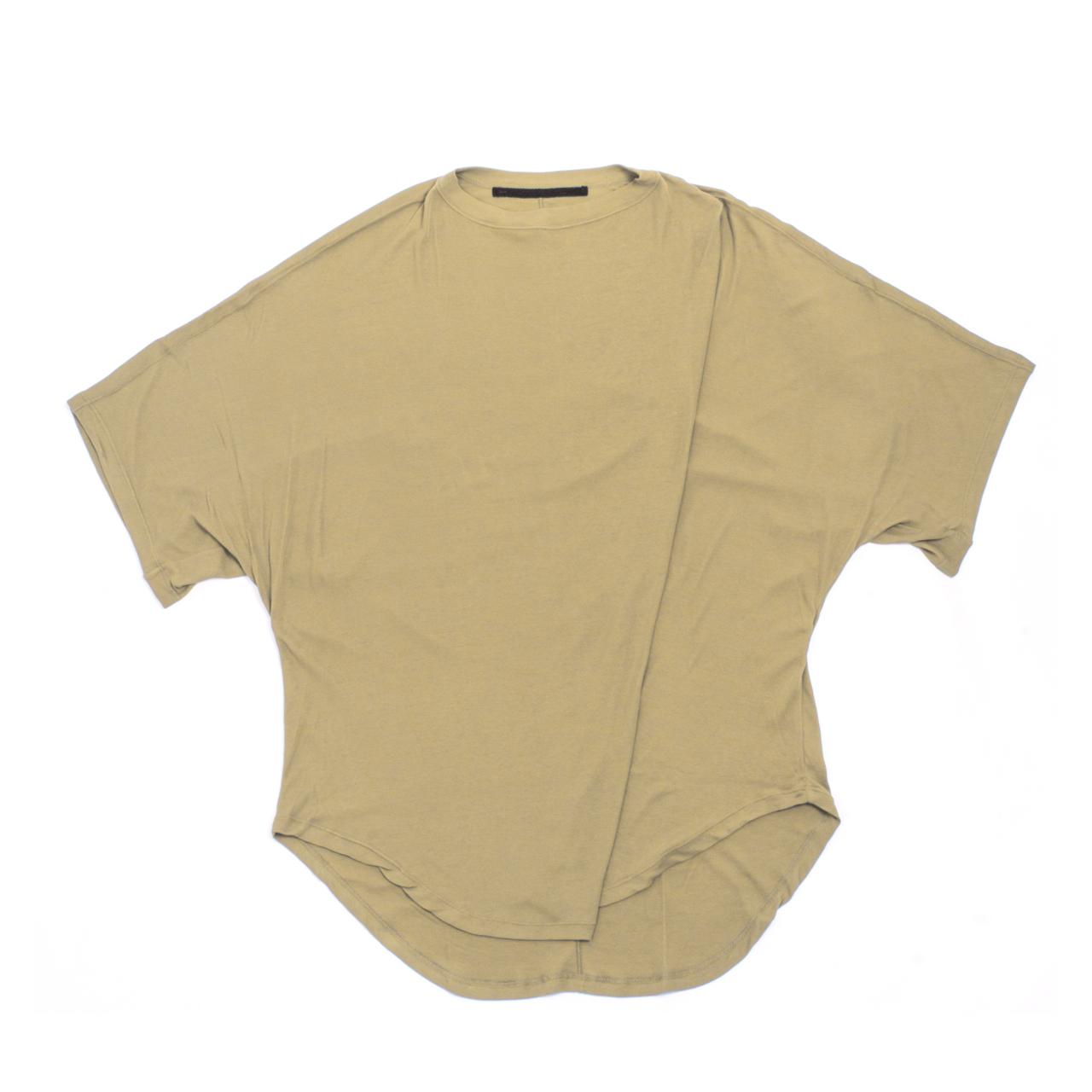 707CUM6-SAND / ドロップカラー オーバーサイズ Tシャツ