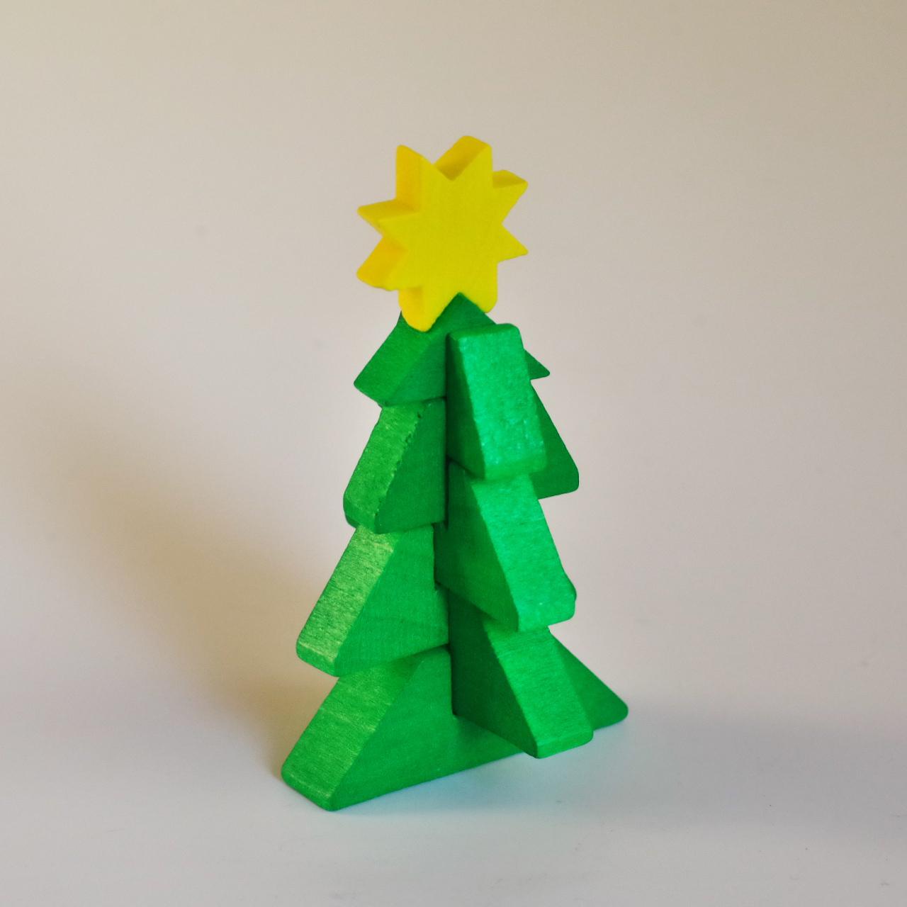 マッチ箱入り クリスマスツリー