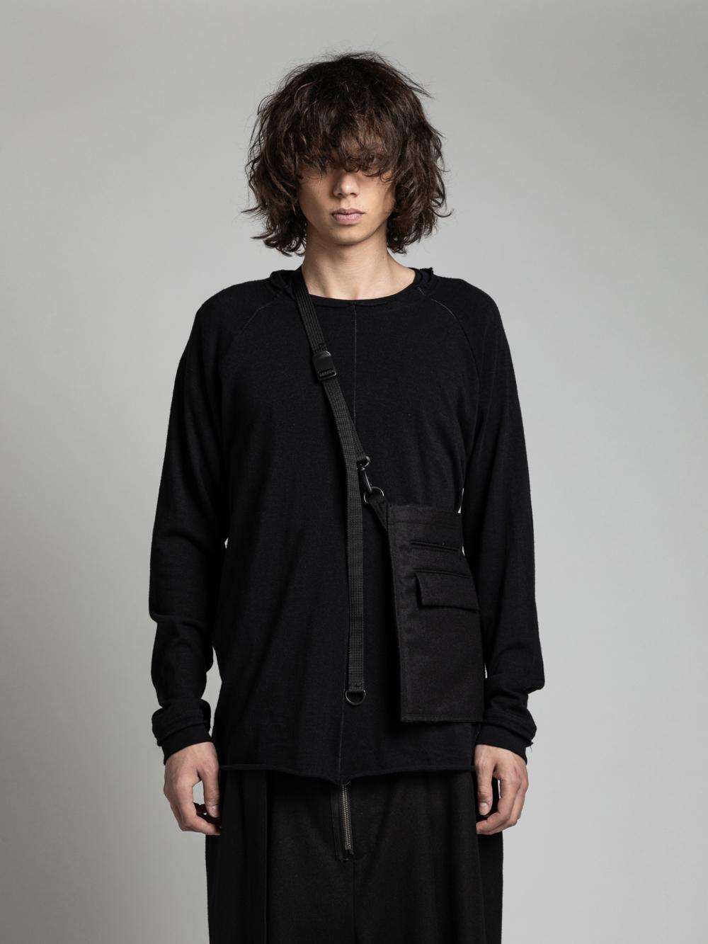 VI-3168-09 / ウール ポケット サコッシュ (小)