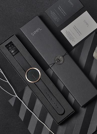 SIMPL REGAL BLACK 腕時計 - 画像5