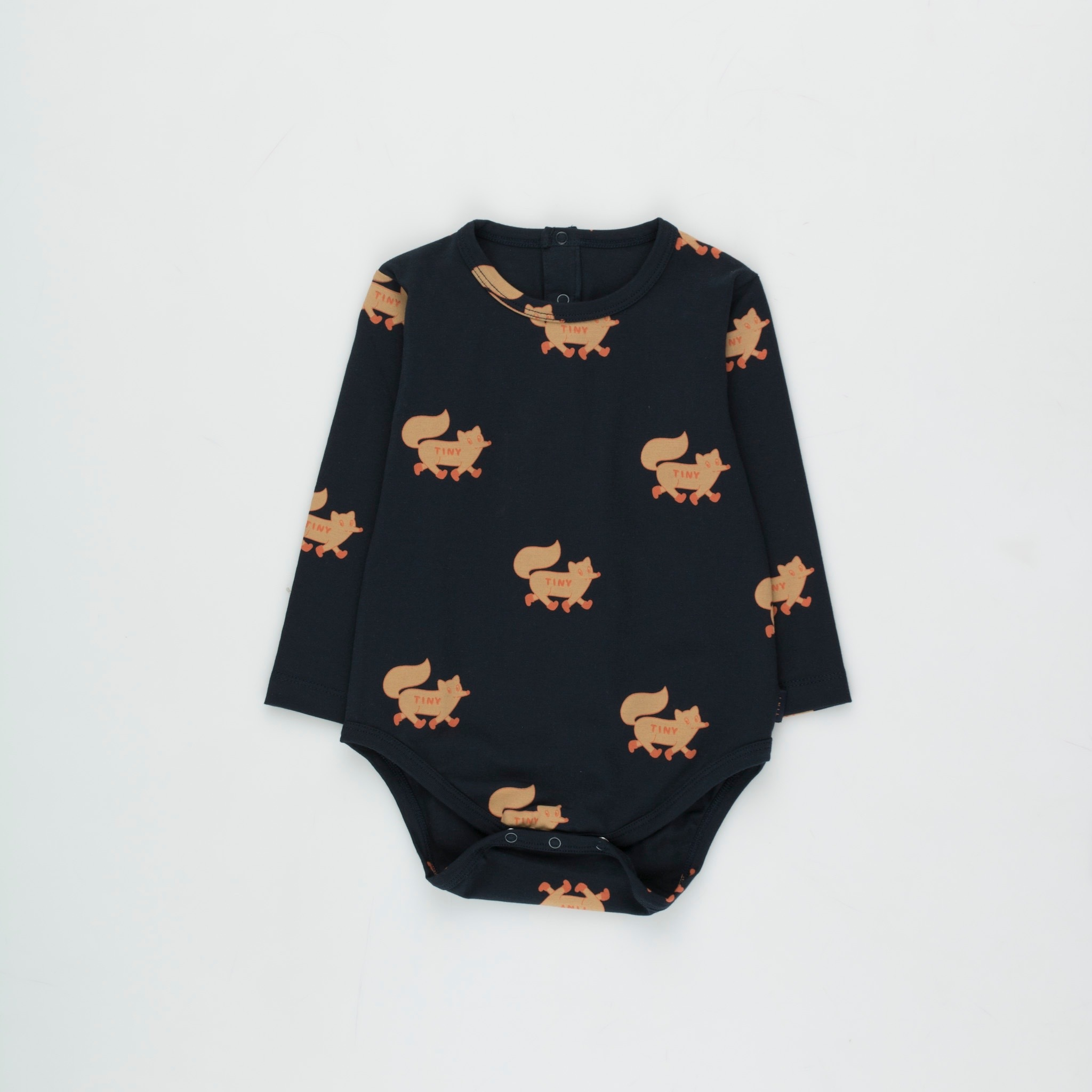 《TINYCOTTONS 2020AW》FOXES BODY / navy × camel