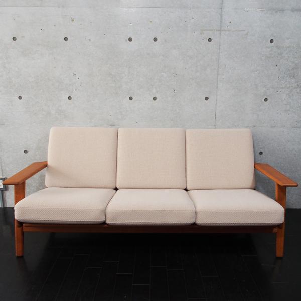 北欧ヴィンテージ家具 Hans.J.Wegner GE290 3 Seater Sofa