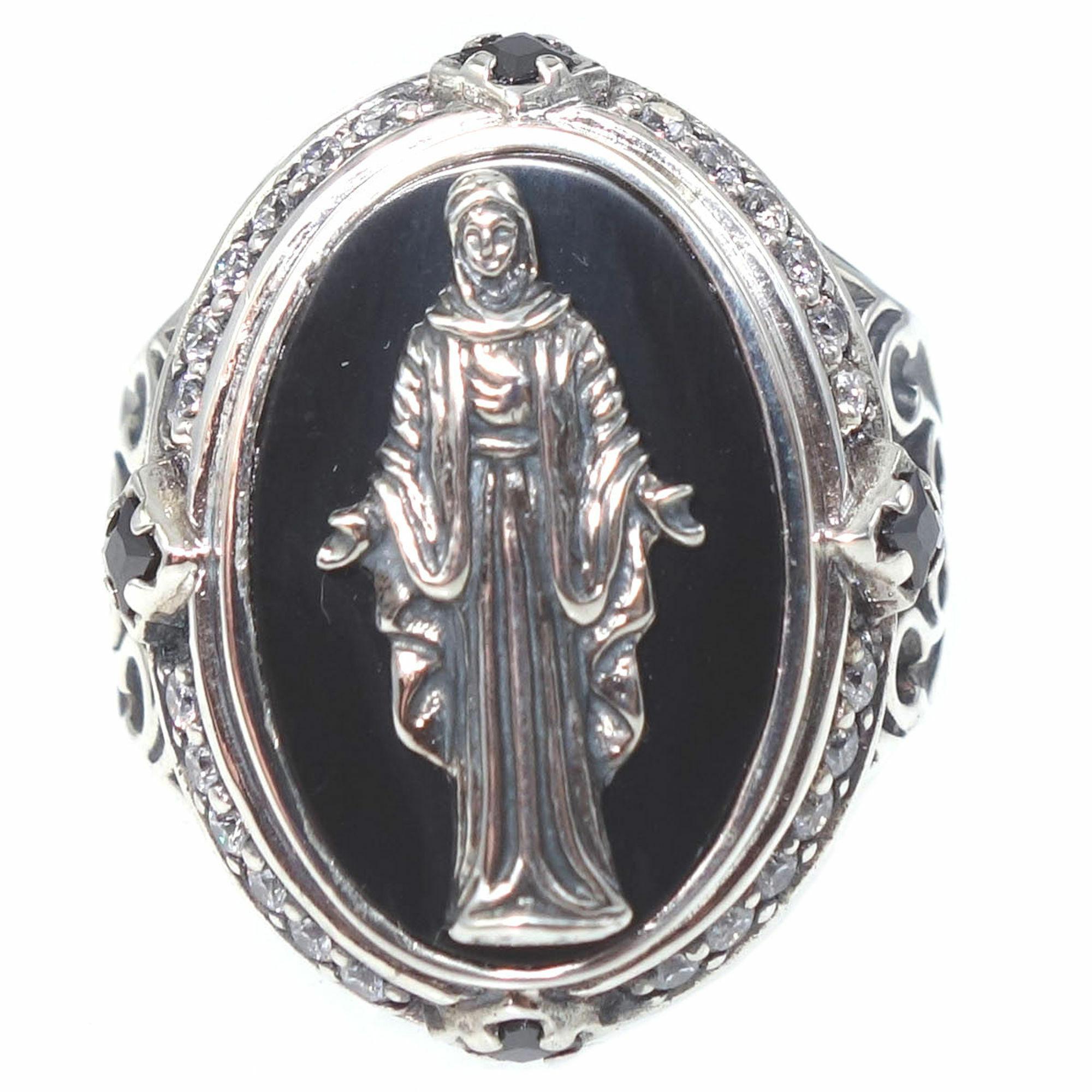 黒衣聖母リング ACR0220