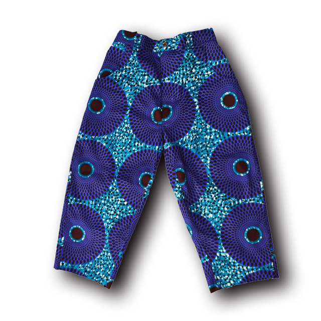 アフリカ柄ズボン(男性L)6