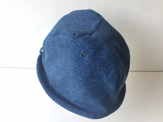 HELMA HAT | FLANNEL BLUE DENIM  【S/M/L】