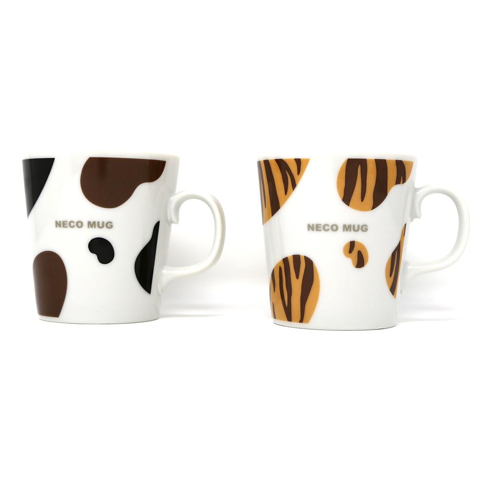 猫マグカップ(ネコパターン)全2種類