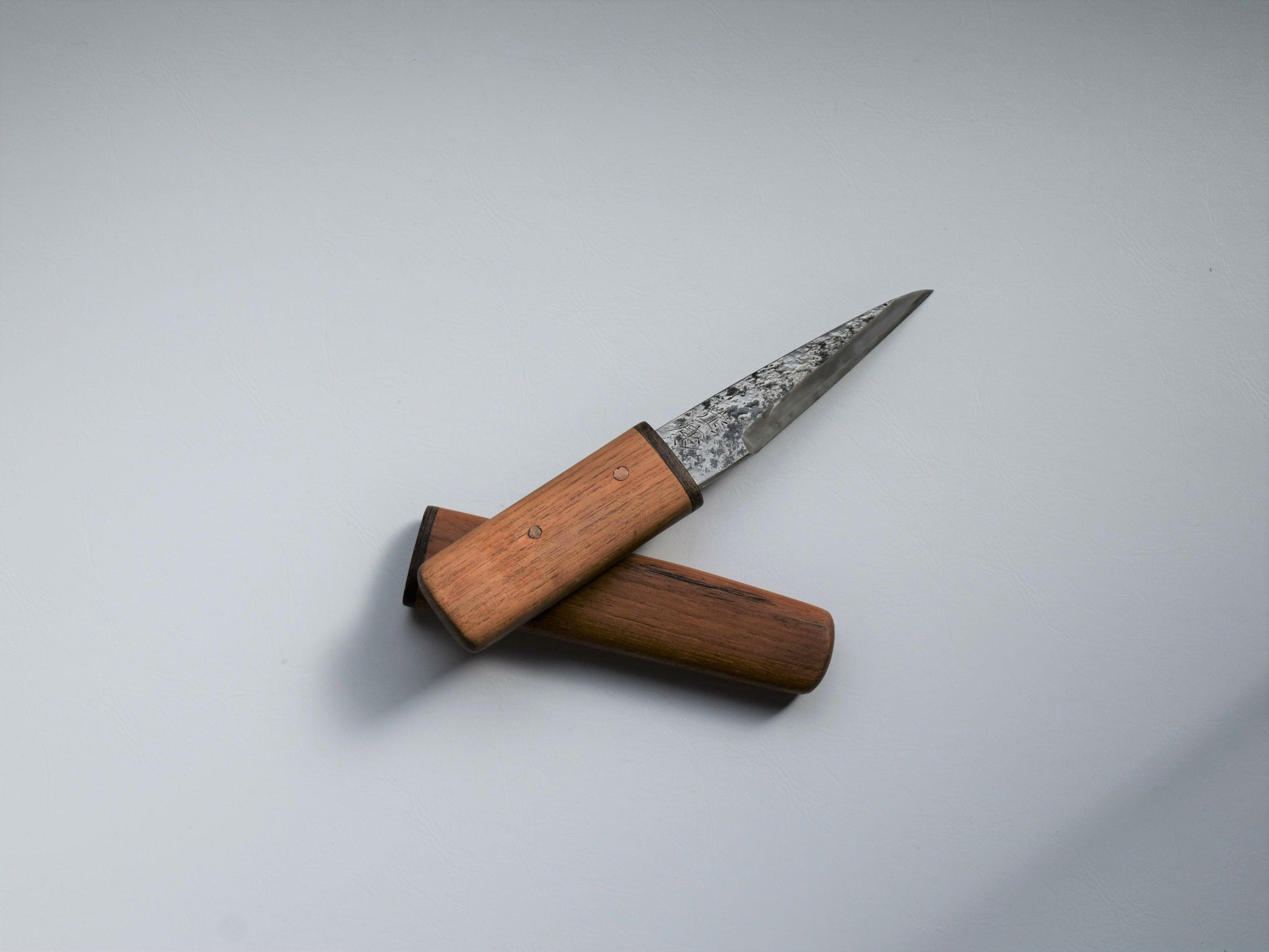 くり小刀 片刃 120㎜