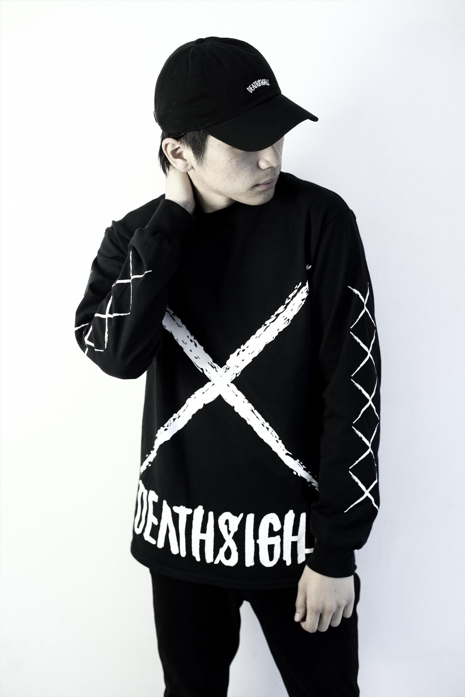 xxx L/S TEES BLACK - 画像3