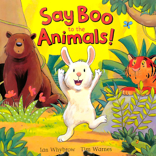 Say Boo to the Animals