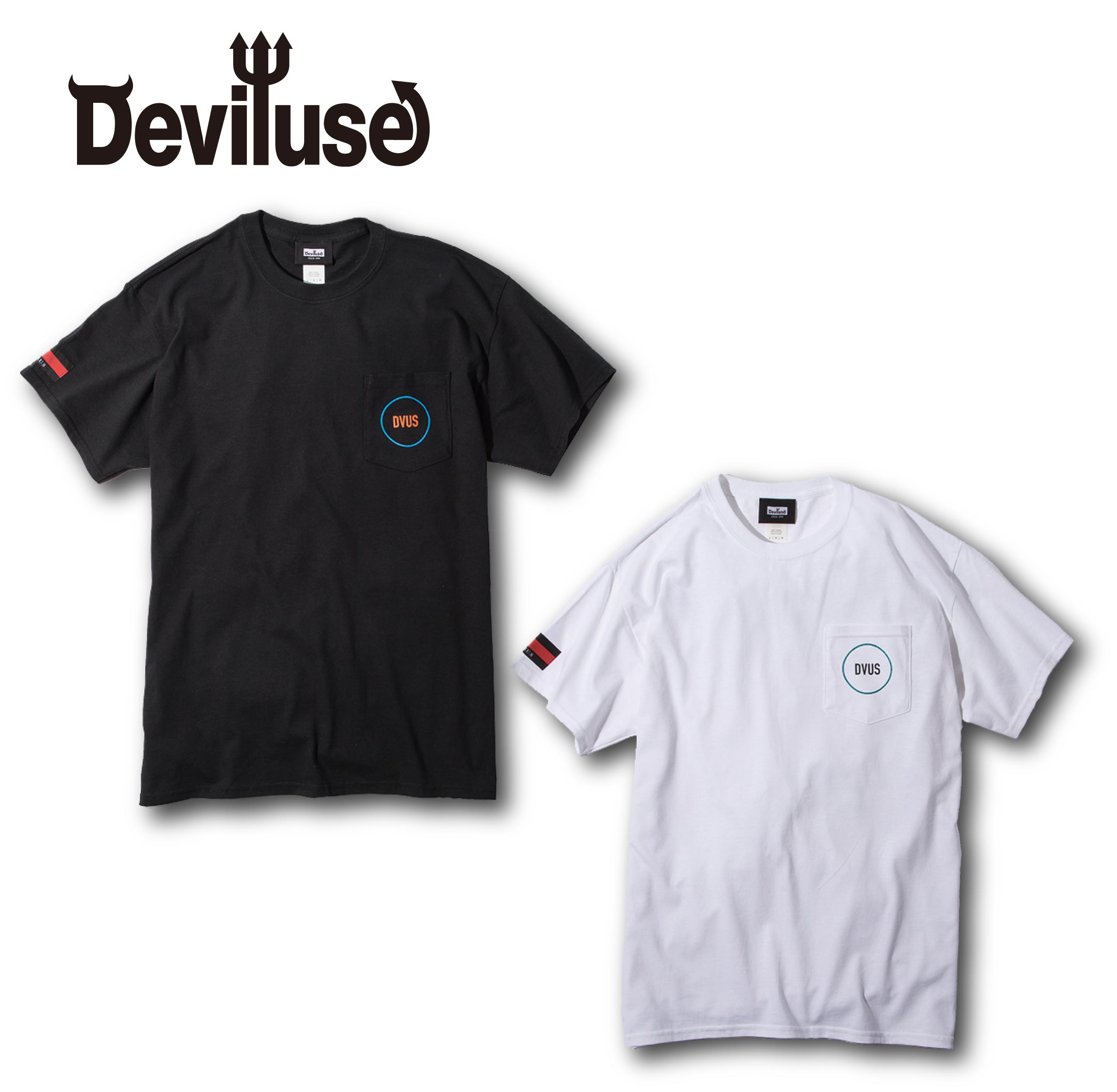Deviluse(デビルユース) | Circle Pocket T-shirts