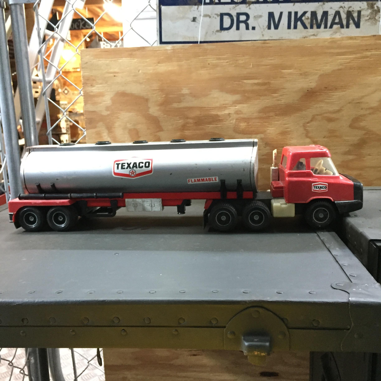 品番0679 タンクローリー TEXACO レッド 燃料輸送車 トラック ヴィンテージ アメリカン雑貨