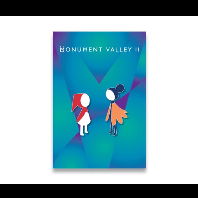 【Monument Valley 2(モニュメント・バレー 2)】ロー&娘 ピンバッジセット - 画像2