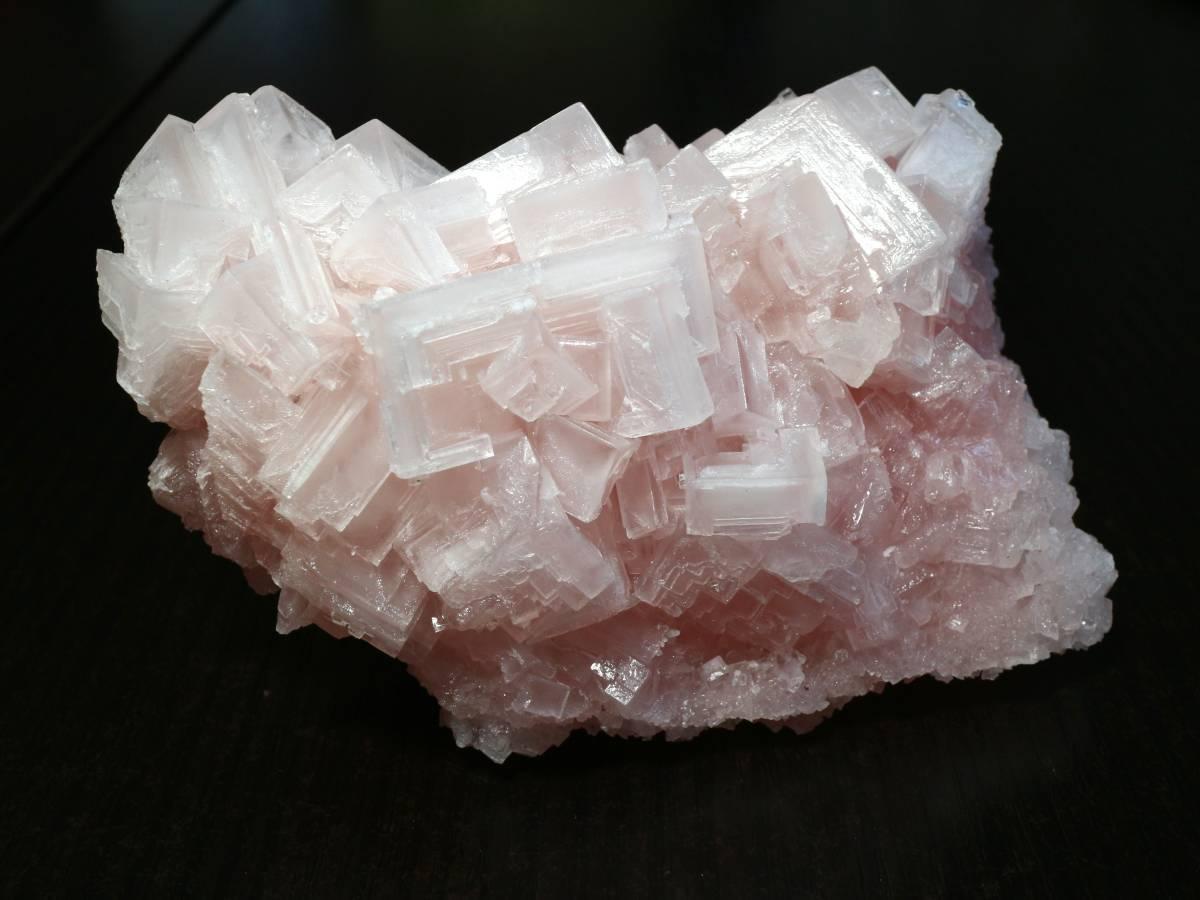 ピンクハーライト カリフォルニア産 318g 岩塩 PH037