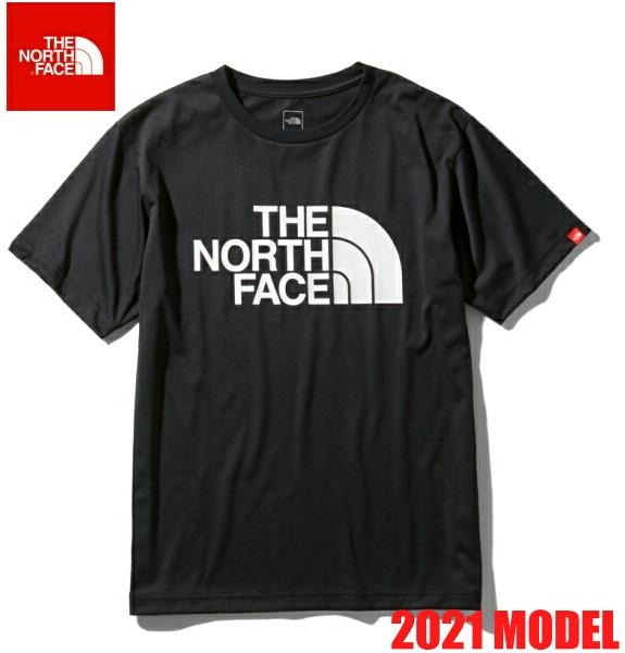 ノースフェイス 半袖 Tシャツ メンズ THE NORTH FACE ショートスリーブカラードームティー 2021年モデル NT32133 ブラック
