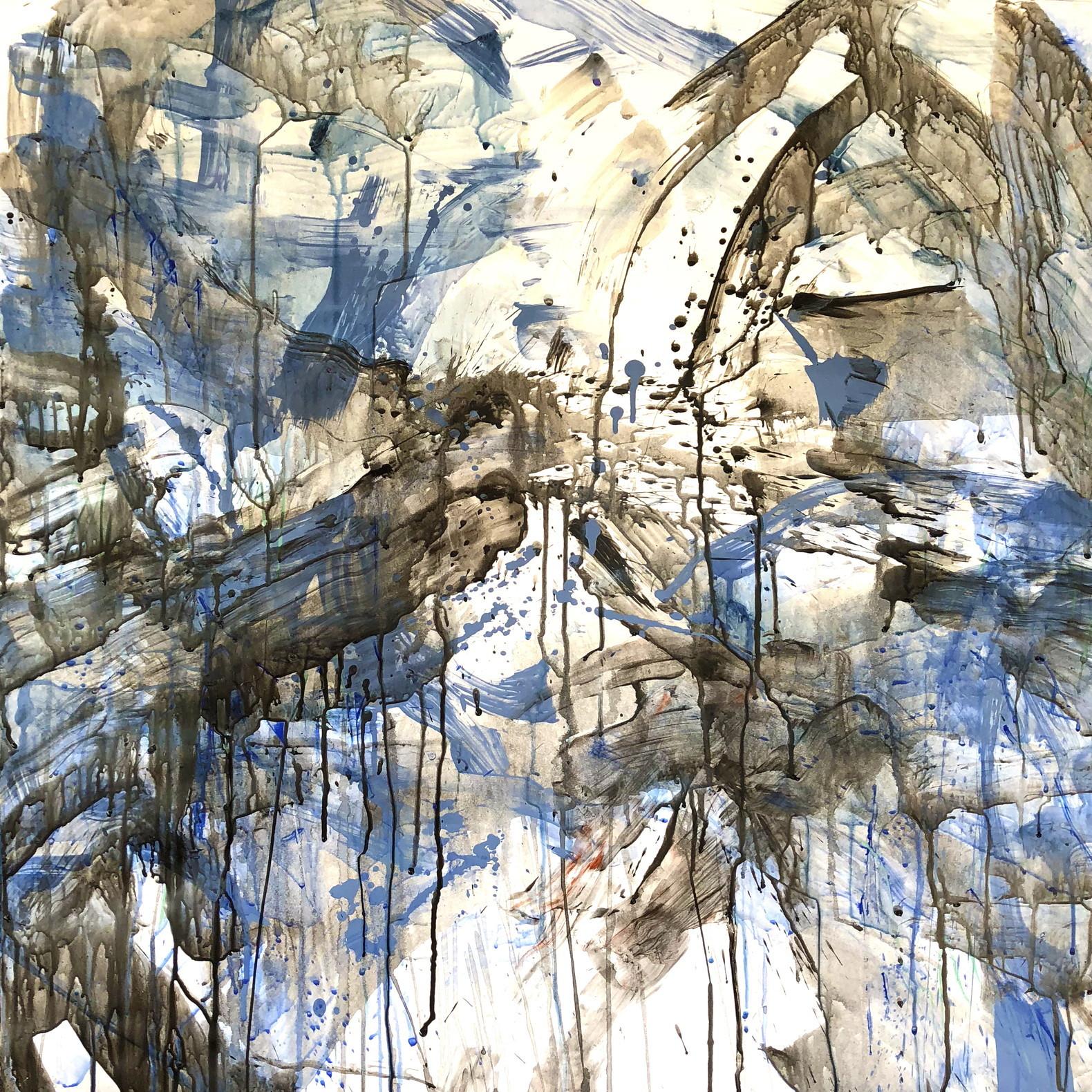 絵画 インテリア アートパネル 雑貨 壁掛け 置物 おしゃれ 抽象画 現代アート ロココロ 画家 : tamajapan 作品 : t-35
