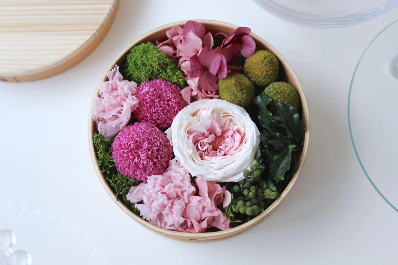 曲げわっぱflower -縁-