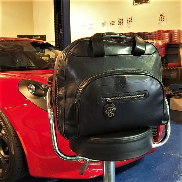 Abarth 695 TRIBUTO FERRARI TRAMONTANO Boston bag【税込価格 送料無料】