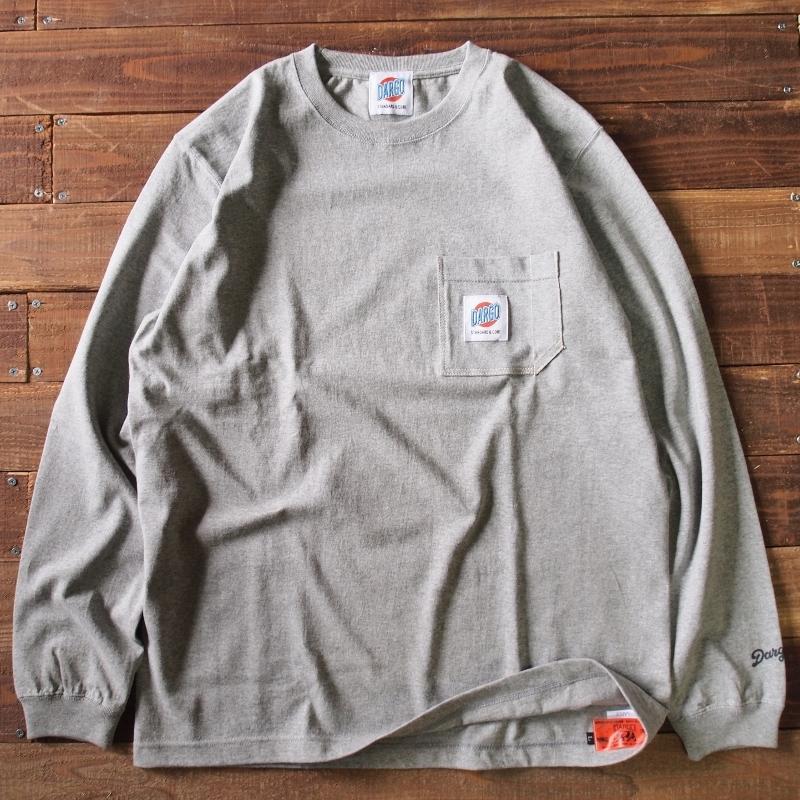 【DARGO】Working Pocket Long T-shirt (GREY)