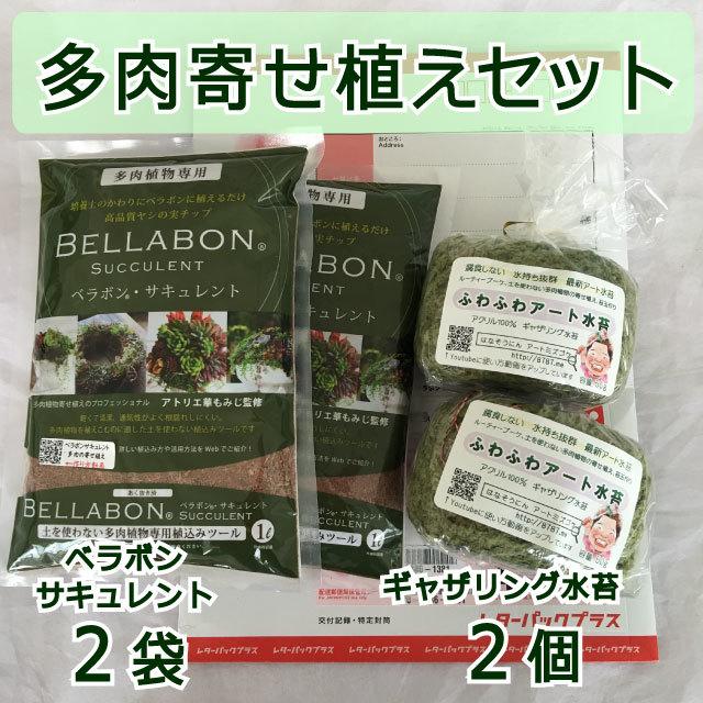 ギャザリング水苔2個&ベラボンサキュレント2袋 セット - 画像1