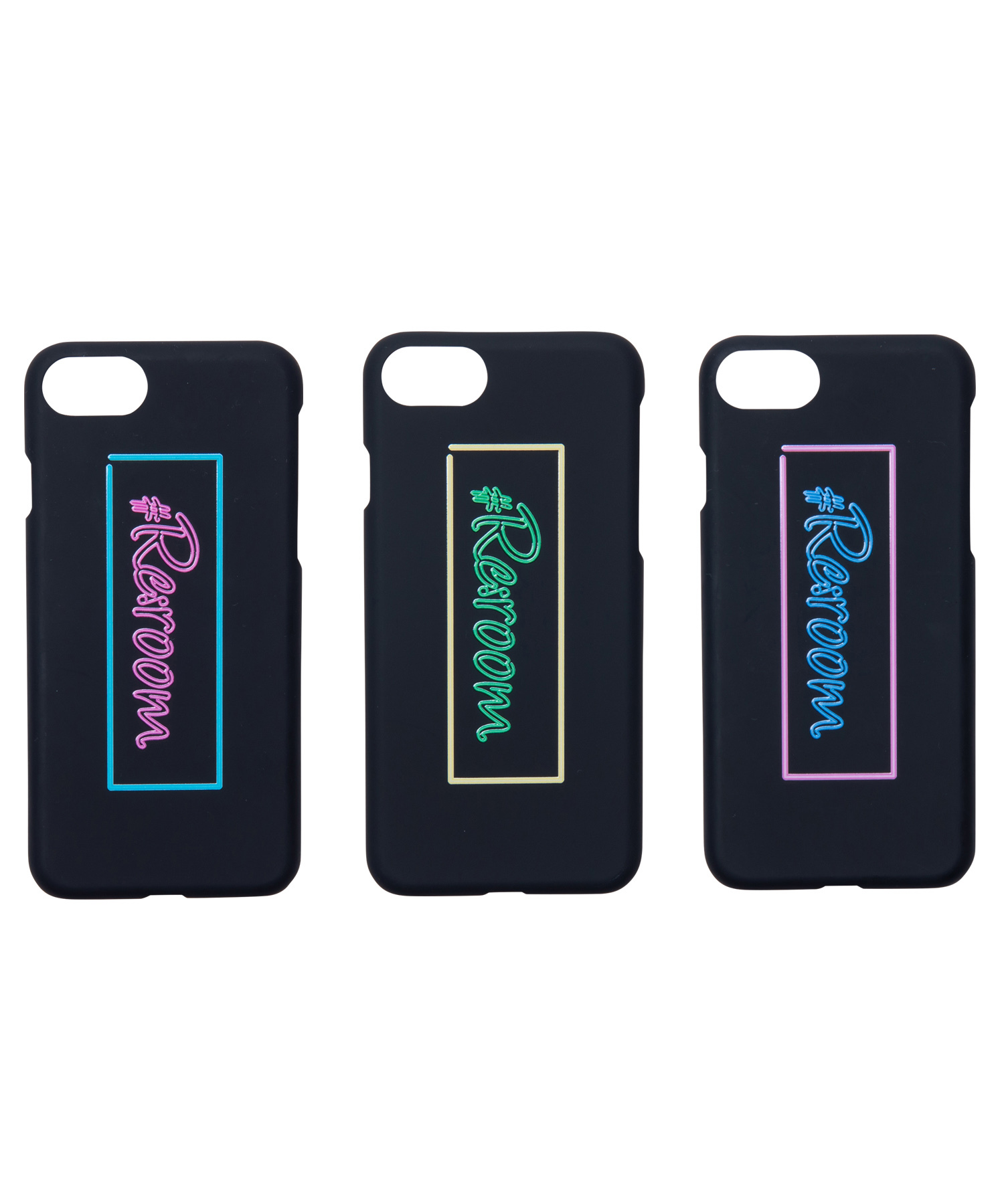 #Re:room NEON BOX LOGO iPhone8/7 CASE[REG073]