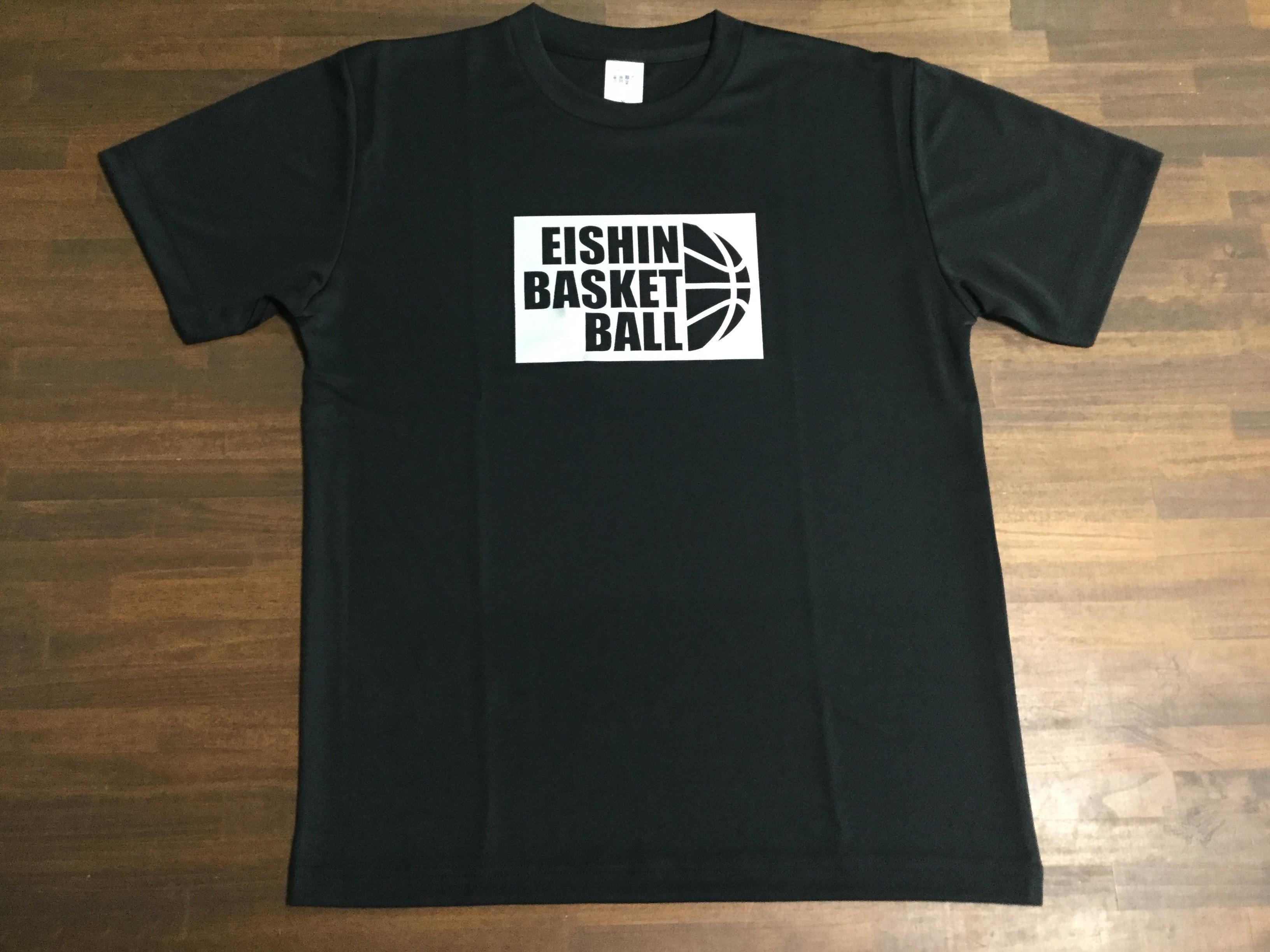 【デザインサンプル】盈進男子ミニバスケットボールスポーツ少年団(U12・男子)保護者Tシャツ