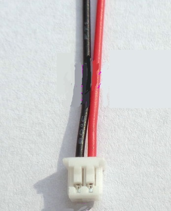 A.002  テールモーター用コネクター付き延長線 3本セット