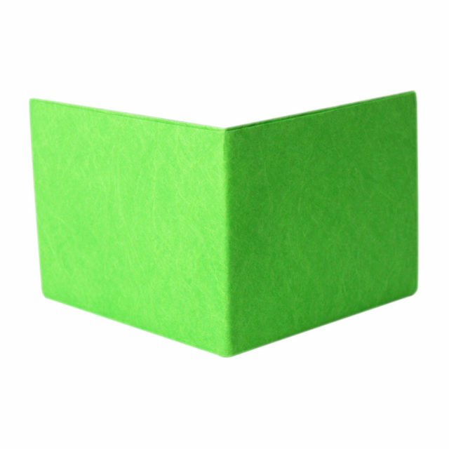 LIXTICK PAPER WALLET – NEON GREEN / LIXTICK