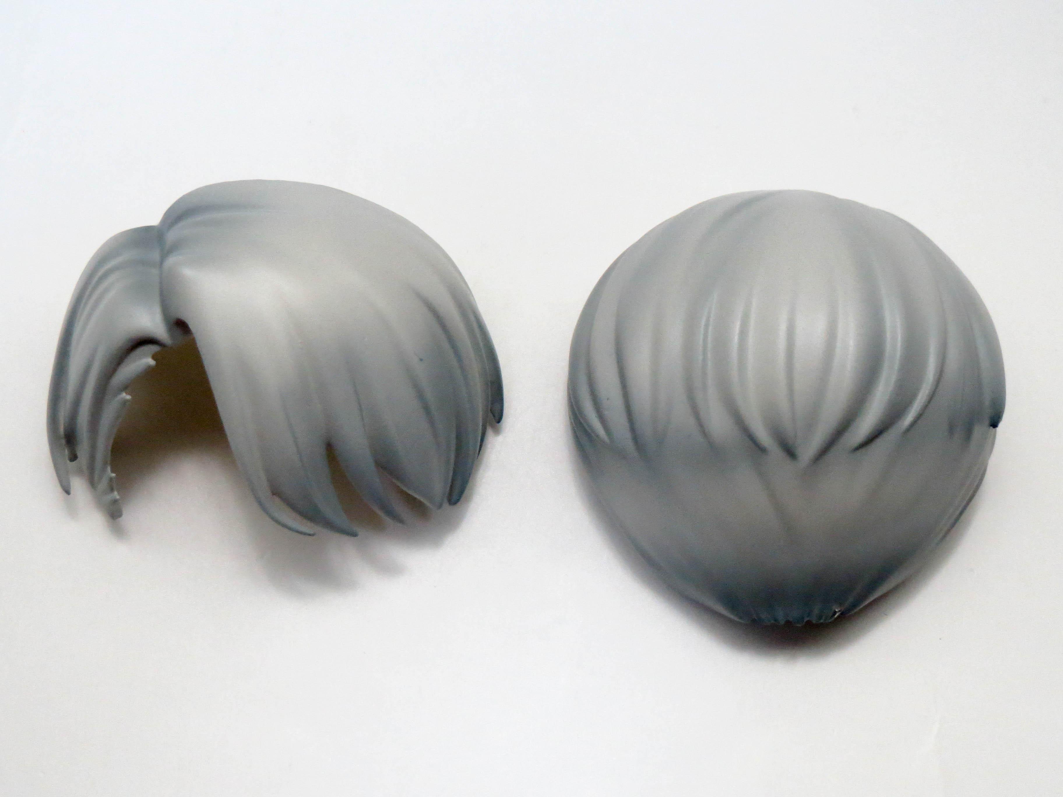 再入荷【741】 ヴィクトル・ニキフォロフ 髪パーツ ショート ねんどろいど