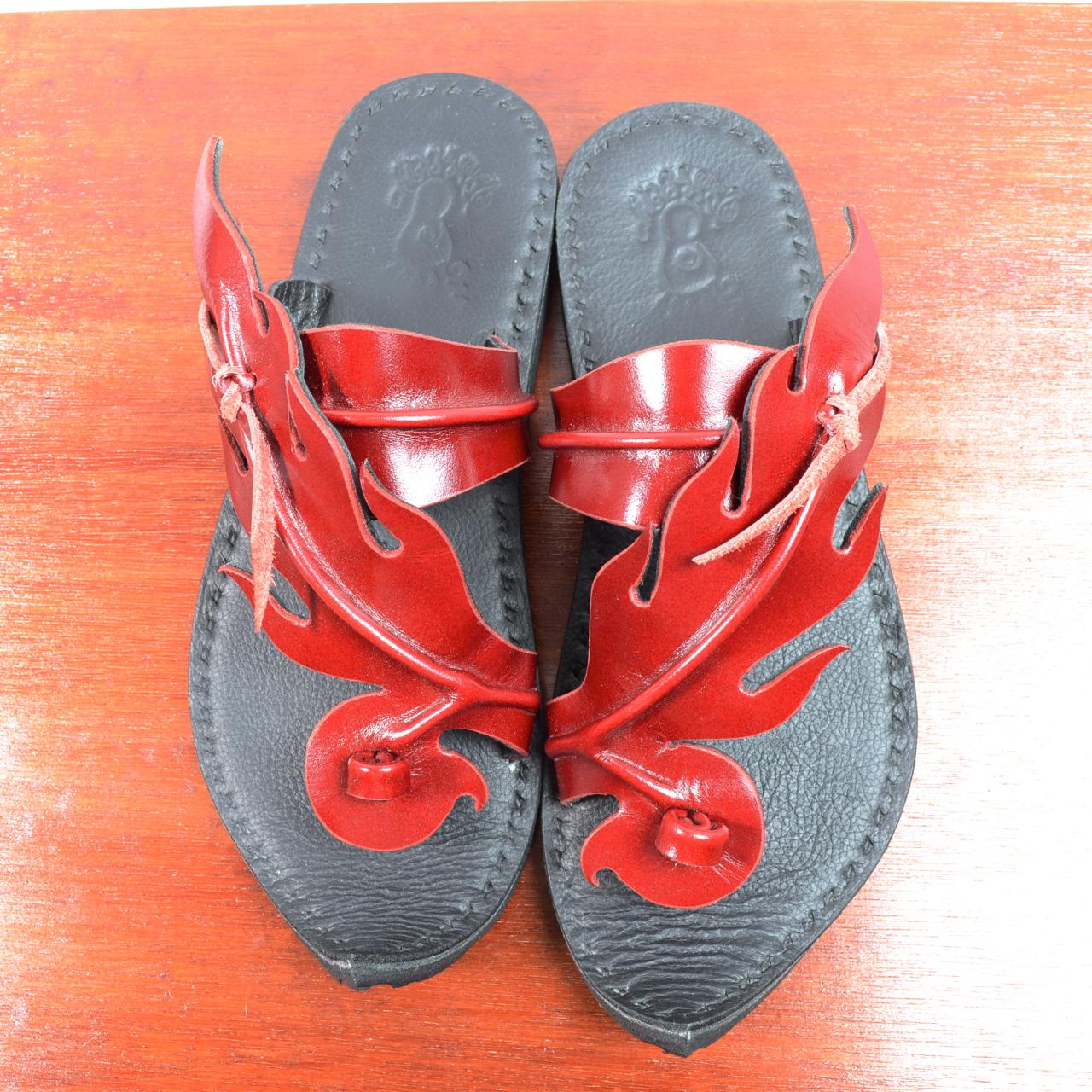 Fire Pattern Sandal (ファイアーサンダル) 24cm・レッド